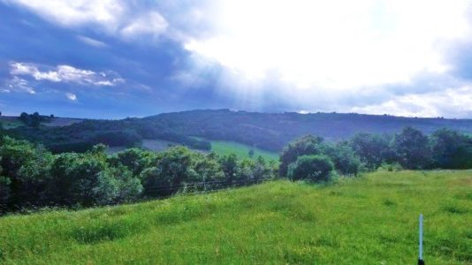 paysage autour de la ferme de daoudou