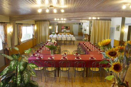 Le Relais de Boralde - grande salle de restauration