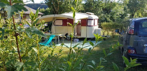 Emplacements Camping Les Calquières