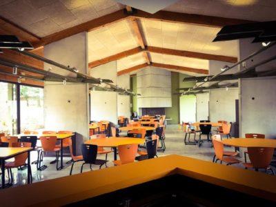 Le Hameau de Moulès : nouvelle salle à manger