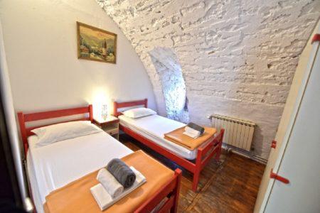 3 chambres de  2 personnes