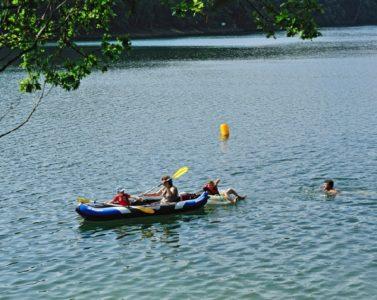 CAMPING LES TERRASSES DU LAC- Lac de Pont de salars