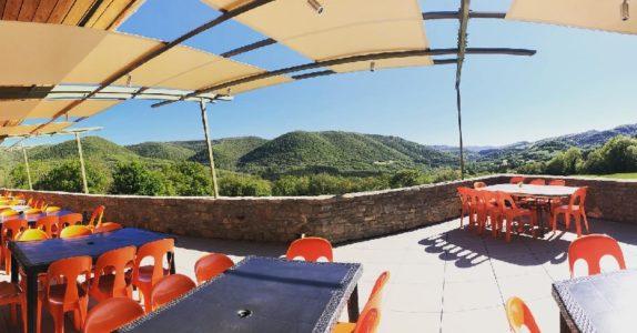 Le Hameau de Moulès: terrasse nouvelle salle à manger