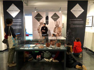 """L'expo """"BD et gladiateurs dans la série Arelate"""" (2019)"""