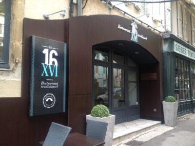 Restaurant Au XVI (groupes)