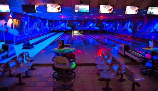 Bowling by night