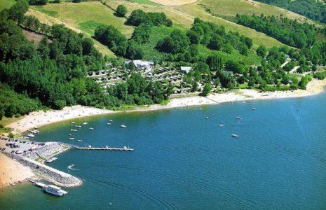 Camping Beau-Rivage du lac de pareloup Aveyron