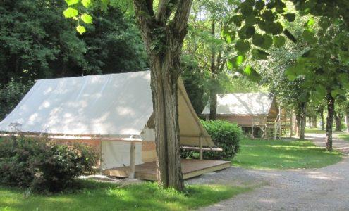 Tente Lodge Amazone au camping du val de saures