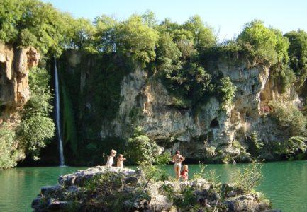 cascade saint rome de tarn