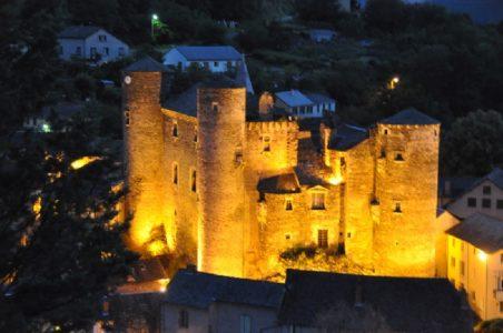 château de Coupiac nuit 2