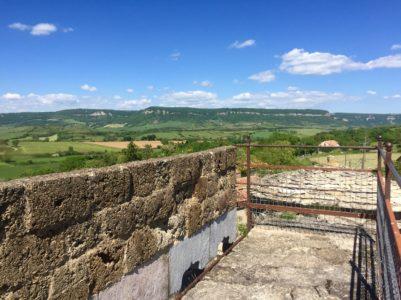 Chemin de ronde et vue panoramique