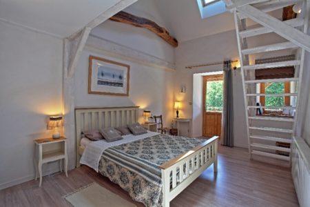 Chambre Hiver - Lit en 160 et 2 lits en 90