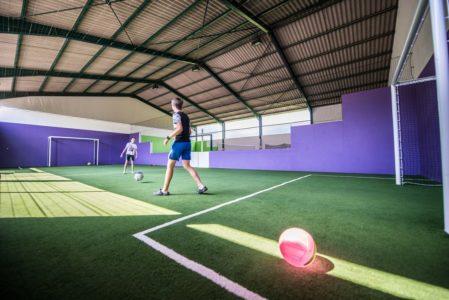 City stade et jeu gonflable couverts