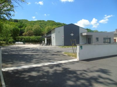 Salle communale de Ste Eulalie d'Olt