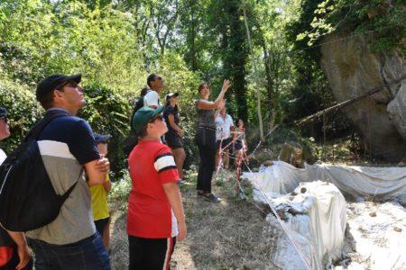 Visite commentée du site préhistorique de Roquemissou