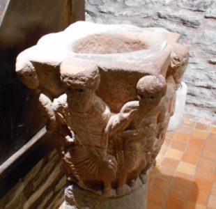 Conques - Musée Joseph-Fau -Chapiteaux romans