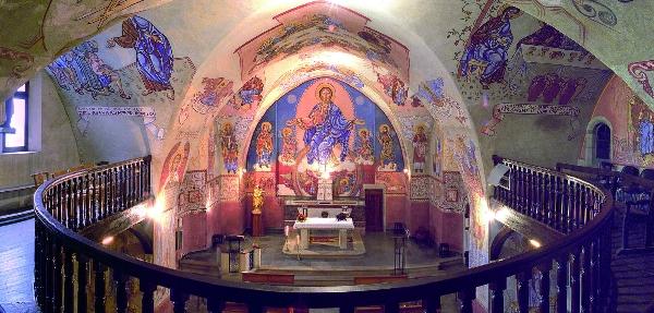 Église de Saint-Victor et fresques de Nicolaï Greschny-groupe