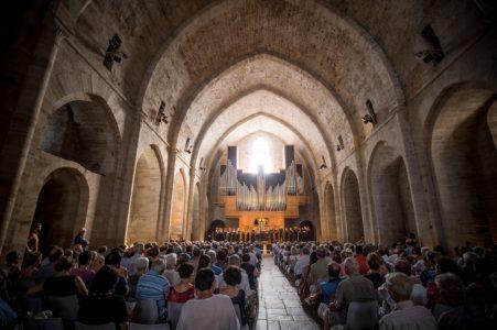 Concert du Festival dans l'abbatiale
