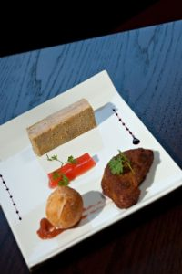 Foie gras Restaurant la Truyère