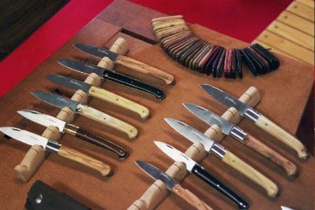 Gamme de couteaux