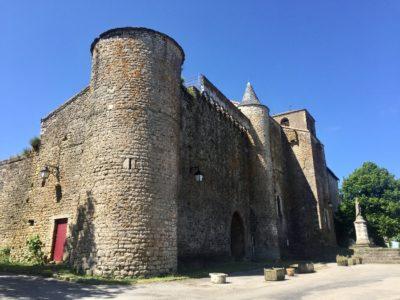 Fort de Saint-Jean d'Alcas, vue des remparts Nord et Est