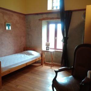 Chambre de 3, moyen gîte