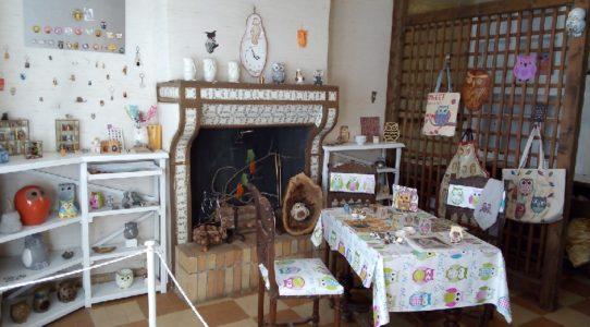 Maison de la chouette à Ste Eulalie d'Olt
