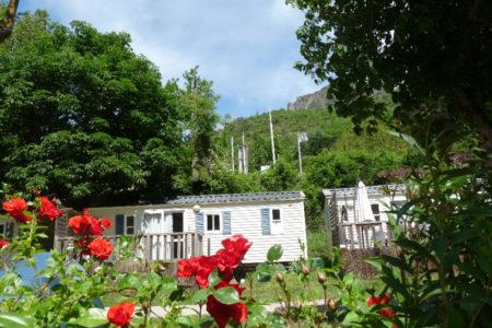 location mobile-home camping la muse GORGES DU TARN