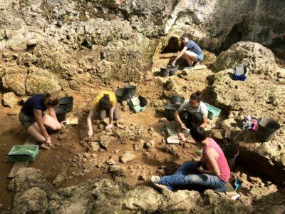 Fouille du site archéologique de Roquemissou