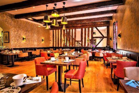 petit déj Continental de hôtel Sainte-Foy de Conques en Aveyron