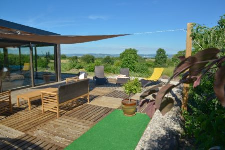 Les caselles - Terrasse piscine
