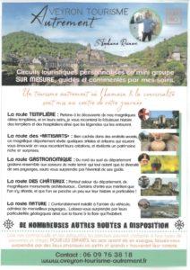 Aveyron Tourisme Autrement: Guide accompagnateur (groupes)
