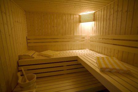 Sauna - HOTEL LA RIVIERE