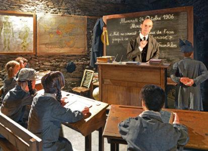TERRA OLT : l'école en 1906