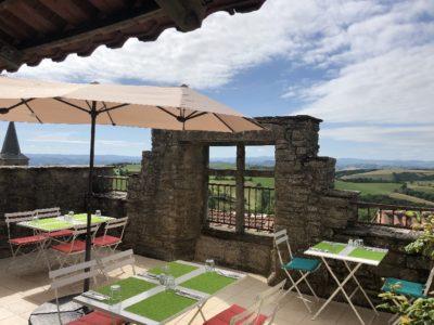 terrassse avec vue panoramique