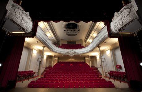 La salle du théâtre Municipal