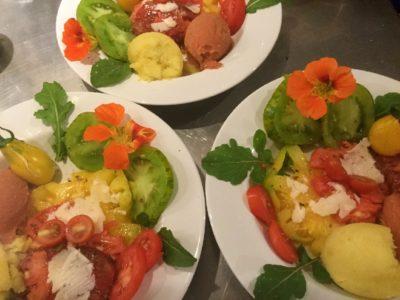 Tomates anciennes bio de notre potager