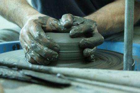 Tournage poterie du Don