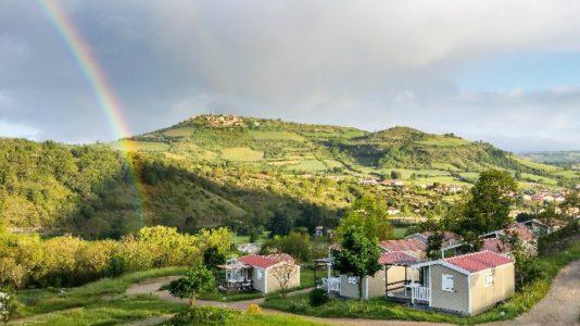 vue dominante sur Luzençon