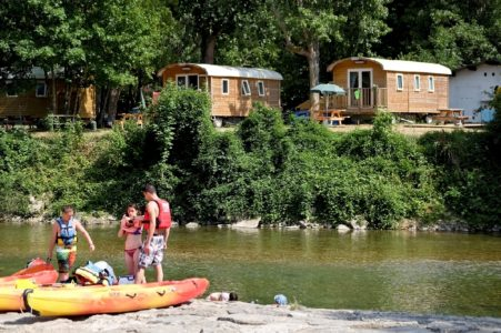 Camping Huttopia Millau (groupes)