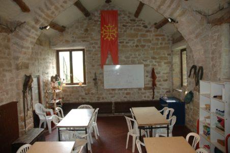 Le Hameau de Moulès (groupes): salle d'activité