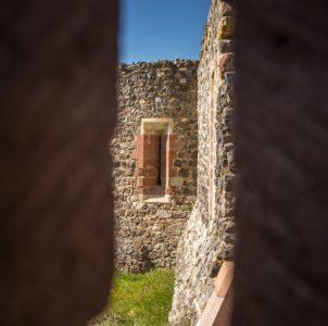 Rempart 15eme, château de Calmont d'Olt