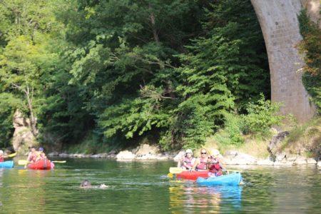 canoe au rozier