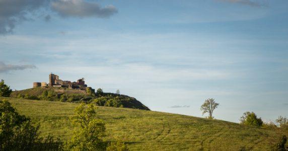 Le château de Calmont d'Olt
