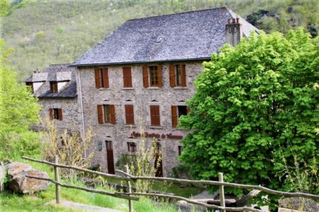 Maison familiale de vacances de Conques.