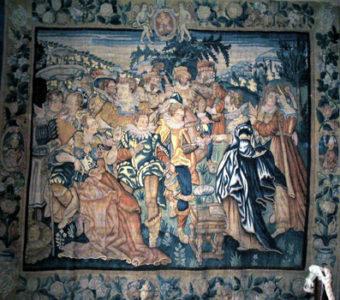 Musée J-Fau - Collection de tapisseries de Felletin - série de Marie Madeleine