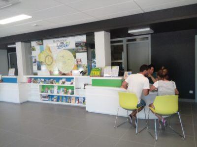 Espace d'accueil de l'Office de Tourisme de Pareloup Lévézou