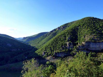 La vallée de la Dourbie