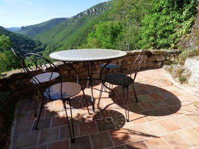 La terrasse commune