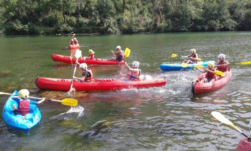 decouverte des gorges du tarn en canoe